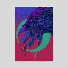 Raven - Canvas by Fendie Daywalker