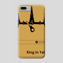 King in Yellow (Special Edition) - Phone Case by Sam Lamont
