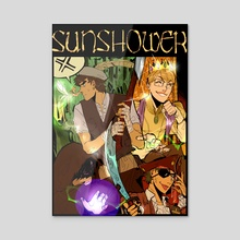 SUNSHOWER ch.1 cover - Acrylic by racket balls