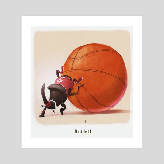 Dunk Beetle by Sérgio  Saleiro