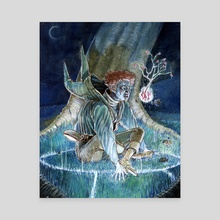Sanguition Scripting - Canvas by Jabari Weathers