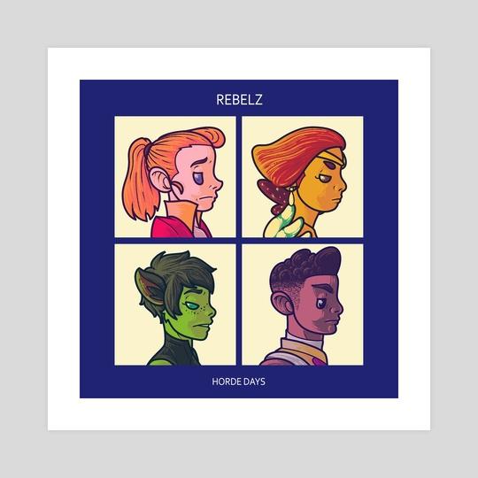 Rebelz by Gabriel Lima