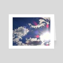 Clouds - Art Card by Vlad Stroe