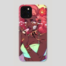 DREADZINE #1: How To Survive 2017 - Phone Case by Irene Koh