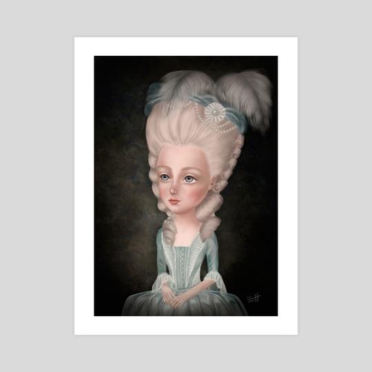 Marie Antoinette by Eda Herz