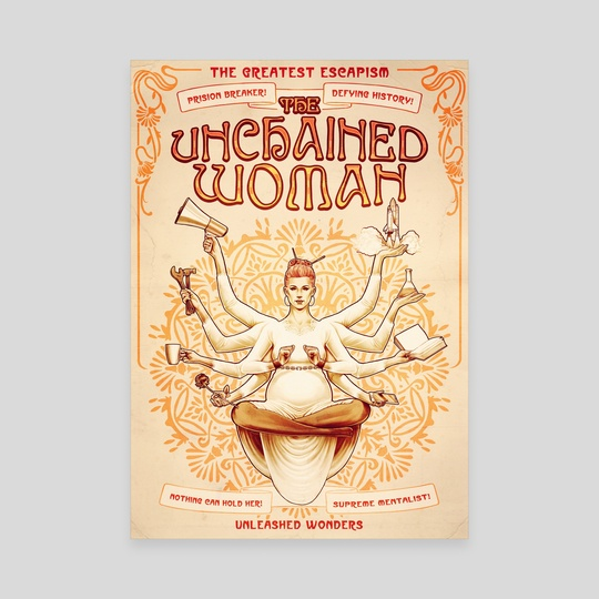 Magic! - The unchained woman by Carlos Tato