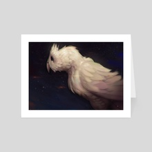 White Owl - Art Card by Tyson Murphy