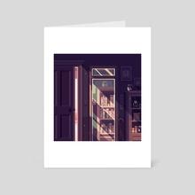 Mirror - Art Card by merrigo
