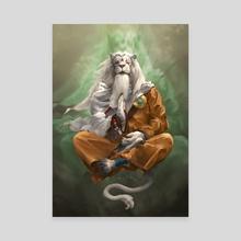 Ajani the Transcended - Canvas by Bryan Fogaça Rosado