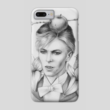Who Killed Cock Robin - Phone Case by Liisa Berezkin