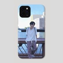 iKON Series. Jinhwan. - Phone Case by milkyopi