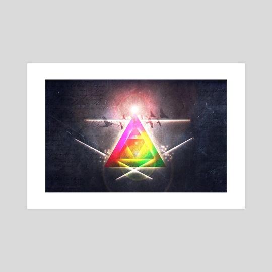 Birds triangle. by Tamara Kos