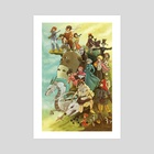 Ghibli Homage - Art Print by Annie Stoll