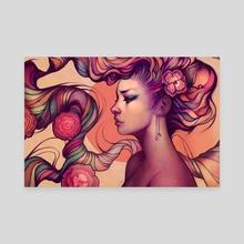 Leah - Canvas by Megan Lara