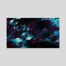 Artificial - Rapid Expansion - Canvas by Andi GreyScale