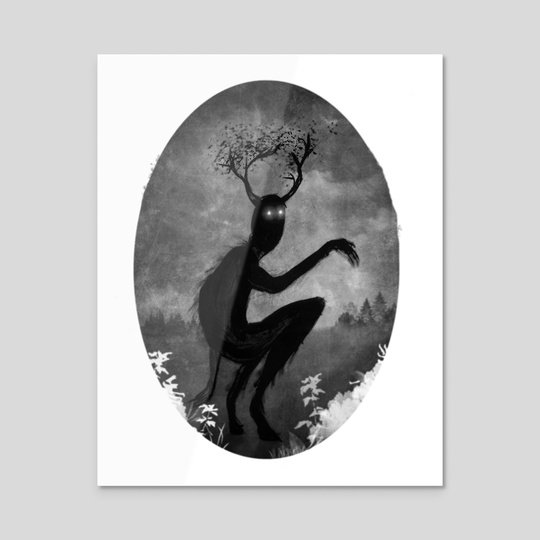 Mr. Faun by Trevin Wyant