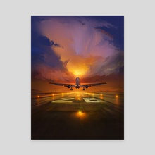 Fly High - Canvas by Artem Cheboha