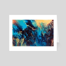 Momentary Visit - Art Card by Jennifer Walsh