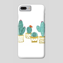Cactus Garden II - Phone Case by 83 Oranges