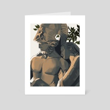 hector and andromache 2 - Art Card by Liridi