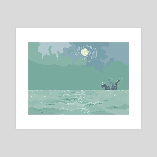 Sea Monster by Grey C C