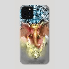 Ganesha's good vibes  - Phone Case by CP Sharma