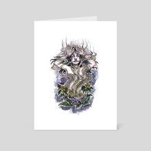 Henbane - Art Card by Catherine Herold