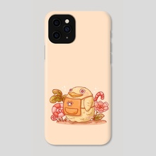 A little duck - Phone Case by Hyemin Yoo