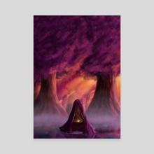 Stillness - Canvas by sai srivatsa