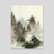 Landscape - 63 - Acrylic by River Han
