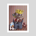 King of the castle - Art Print by Giorgia Vallicelli