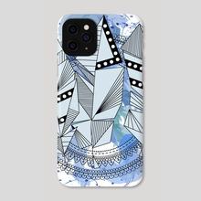 Feather Mandala - Phone Case by Genevieve Blais