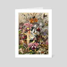 AISHA - Art Card by Gloria Sánchez