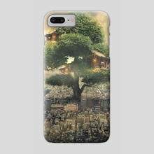 tree house - Phone Case by Even Liu