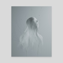 Ghost Call - Canvas by Mikko Raima
