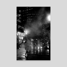 NYC Noir 004 - Canvas by Nikita Abakumov