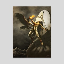 Prometheus - Canvas by Xav DRAGO
