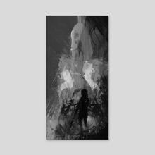 Lionheart - Acrylic by Ra Lu