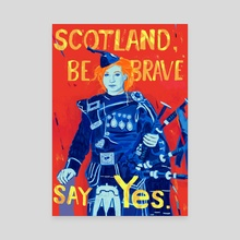 Brave - Canvas by Ciaran Murphy