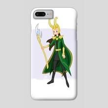 Loki - Phone Case by Anna Eng