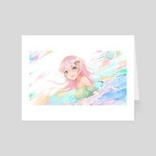 Iro  - Art Card by Andrea