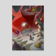 D20 DieHolder  - Canvas by Maria Viktoria Kanellopoulou