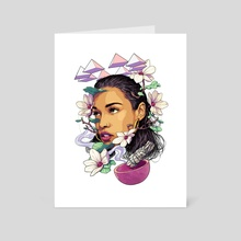 Princess Nokia - Art Card by Matt Chu