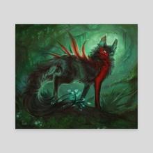 KeyForge - Panpaca Anga - Canvas by Liiga Smilshkalne