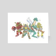 Danger IV - Art Card by Alain Gruetter