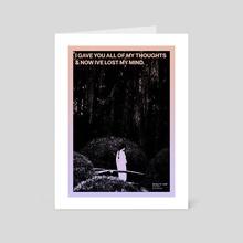 072 - Lost - Art Card by Caroline Dietl