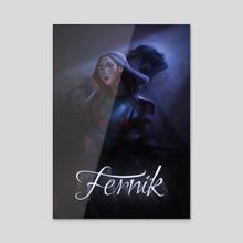 Fernik - Irene & Jerycho - Acrylic by Laura Faraci