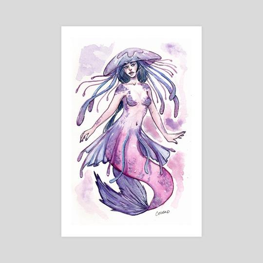 Jellyfish Mermaid by Catherine Herold