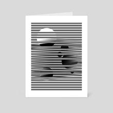 Portal - Art Card by Samuel Stroud