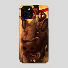 Unbound Charge - Phone Case by Emily Temple